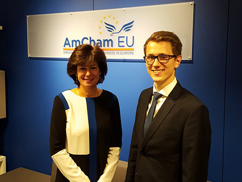 Susan Danger, CEO of AmCham EU